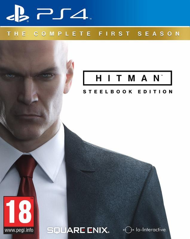 Hitman: The Complete First Season Steelbook Edition (PS4)-thumb