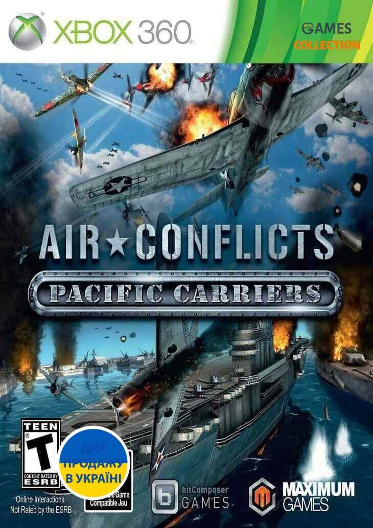 Air Conflicts: Pacific Carriers (XBOX360)-thumb