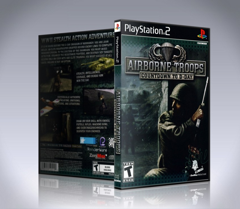 Airborne Troops Countdown to D Day (PS2)-thumb