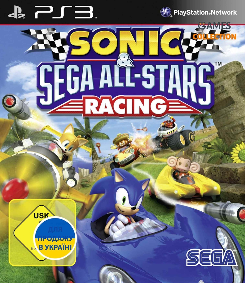 Sonic & All-Stars Racing (PS3) Б/У-thumb