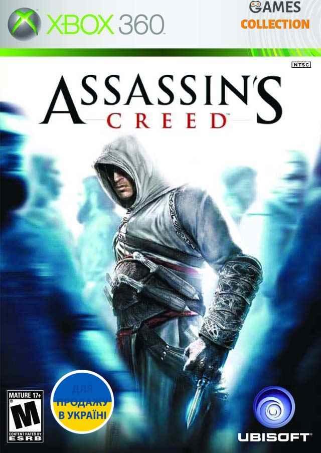Assassin's Creed (XBox 360) б.у. лицензионный-thumb