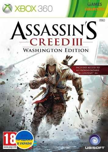 Assassin's Creed III: Washington Edition (Xbox 360/Xbox One) Б/У-thumb