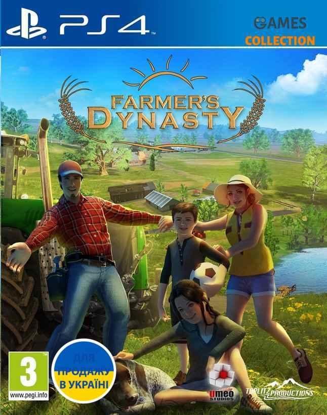 Farmer's Dynasty (PS4)-thumb