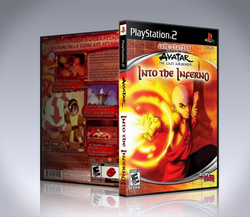 Avatar The Last Airbender Into the Inferno (ps2)-thumb