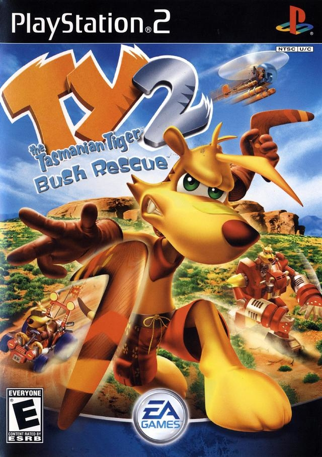 TY The Tasmanian Tiger 2: Bush Rescue (PS2)-thumb