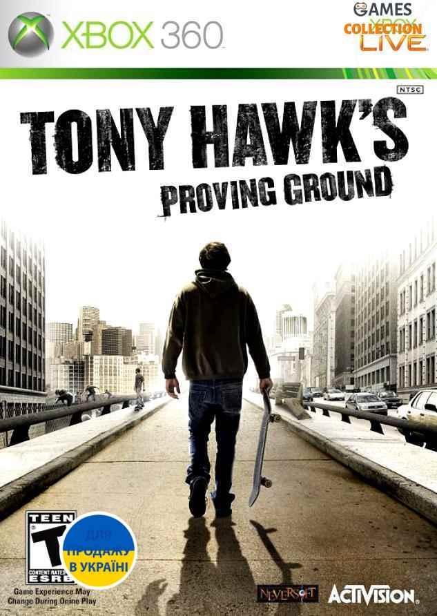 Tony Hawk's Proving Ground (Xbox 360) Б/У-thumb