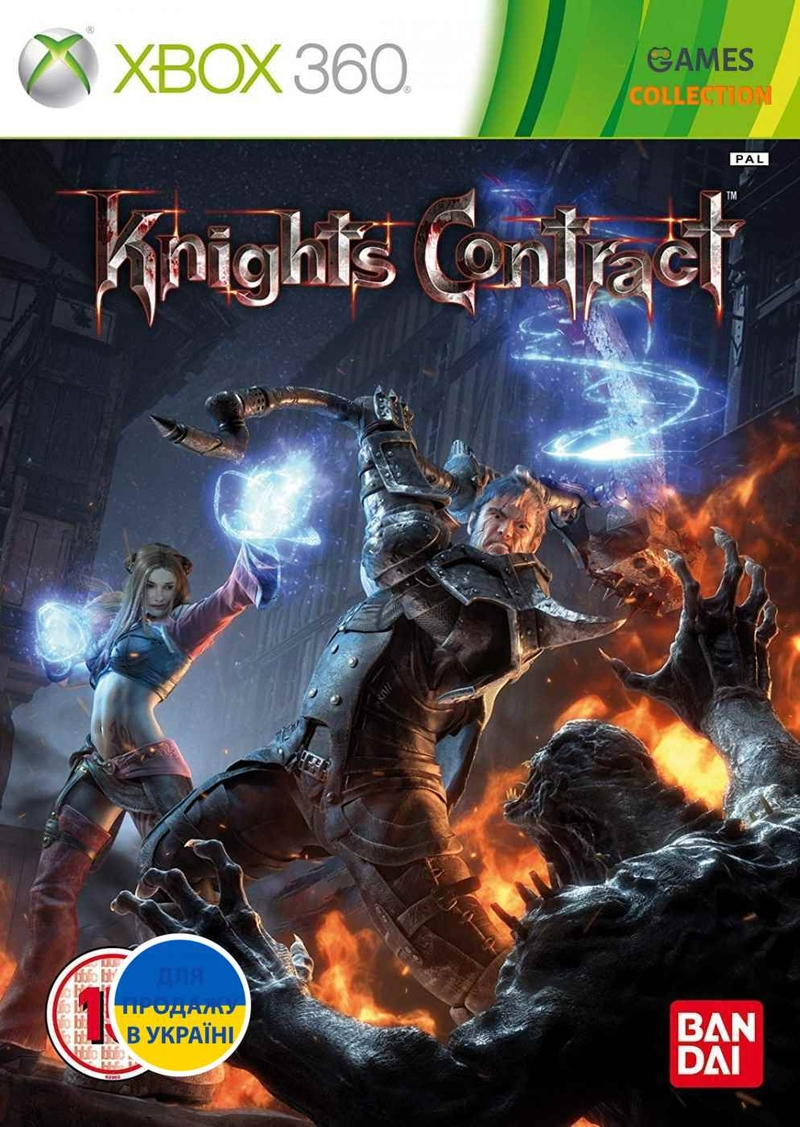 Knights Contract (XBOX360)-thumb