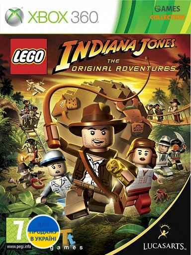 LEGO Indiana Jones (XBOX360) Б/у-thumb