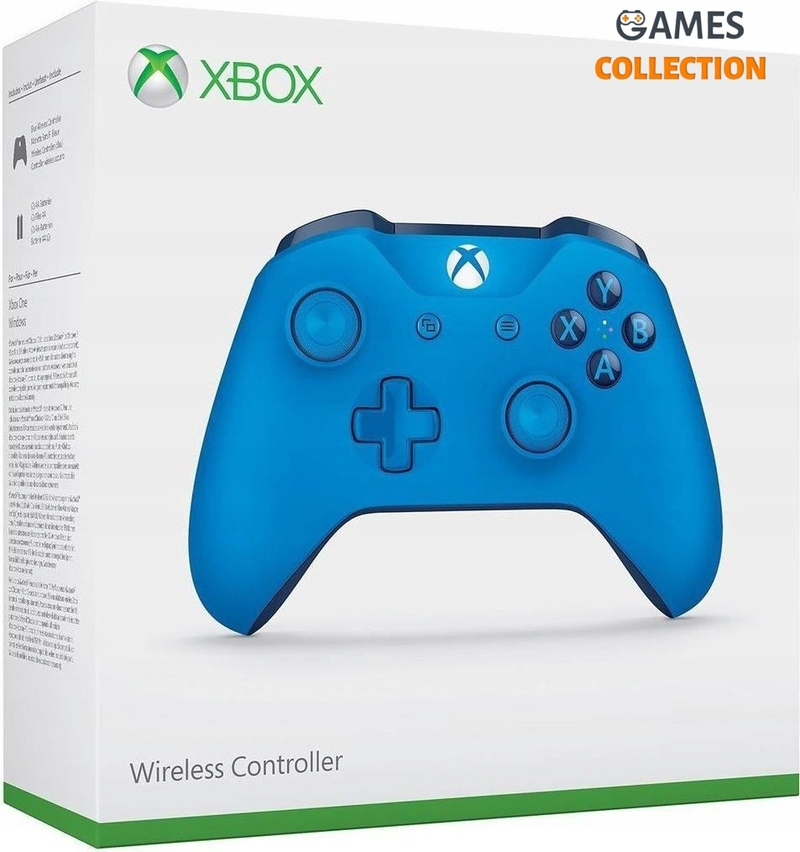 Microsoft Official Wireless Controller Xbox One S – Blue Vortex (Xbox One)-thumb