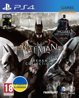 Batman: Arkham Collection (PS4) Б/У-thumb