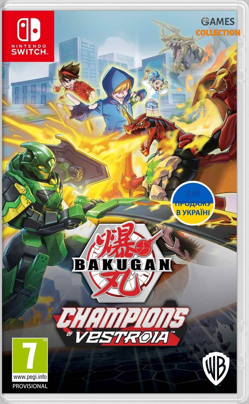 Bakugan: Champions of Vestroia (Switch)-thumb
