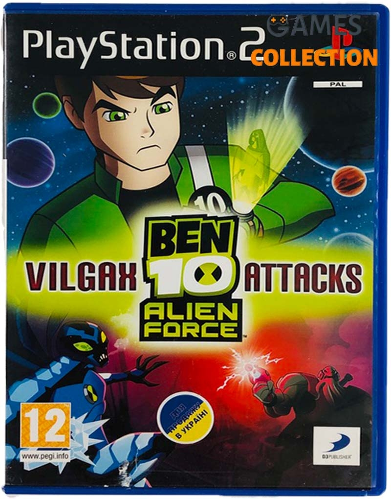 Ben 10: Alien Force – Vilgax Attacks (PS2) Б/У-thumb