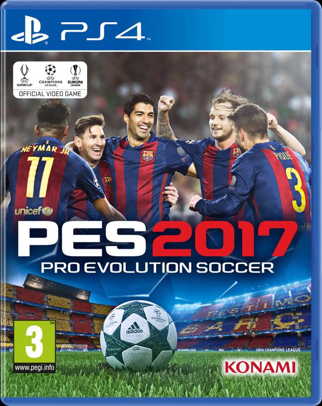 Pro Evolution Soccer 2017 (PS4)-thumb