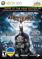 Batman: Arkham Asylum GOTY (Xbox 360)-thumb