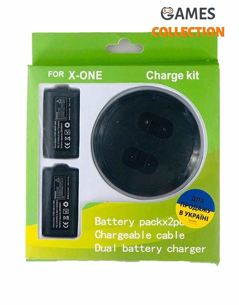 Charging Kit 2 аккумулятора + Док станция XBOX ONE / S / X-thumb