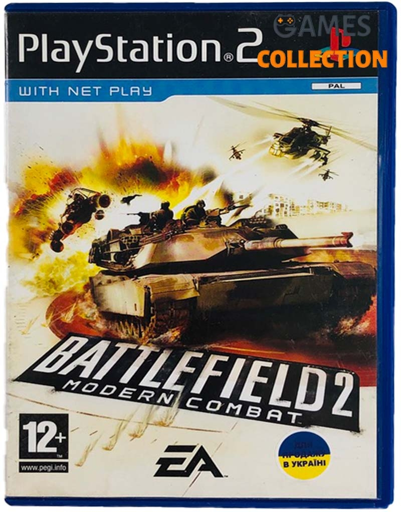 Battlefield 2: Modern Combat (PS2) Б/У-thumb