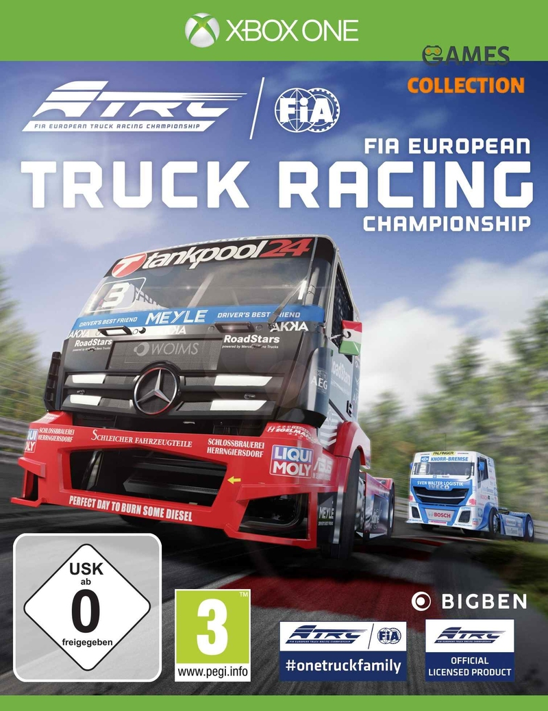 FIA: European Truck Racing Championship (XBox One)-thumb