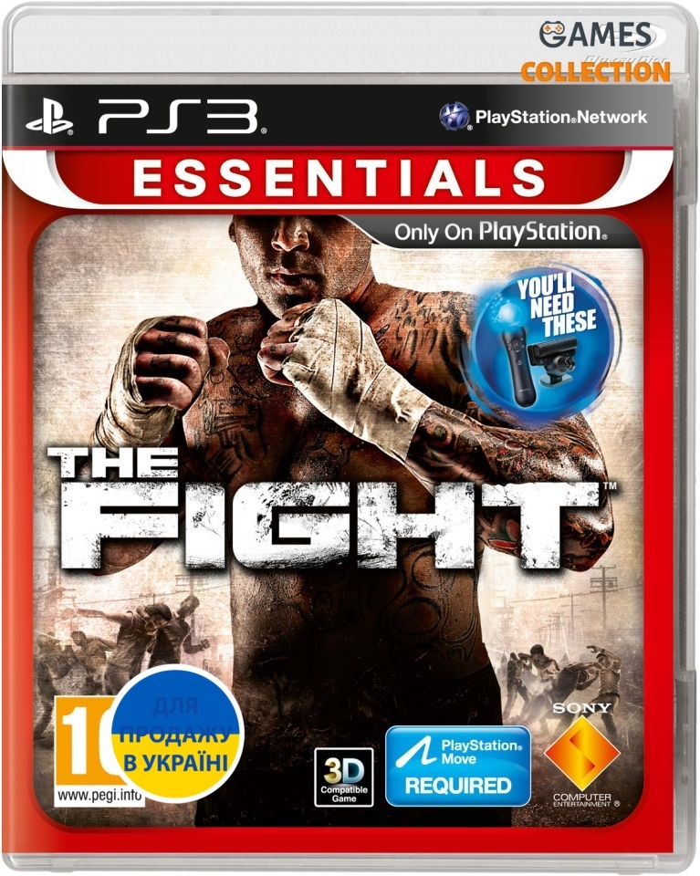 The Fight (PS3) Схватка (ESN) (PS Move)-thumb