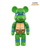 Bearbrick Leonardo (TMNT) 400% (28 см)-thumb