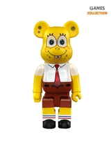 Bearbrick SpongeBob SquarePants 400% (28 см)-thumb