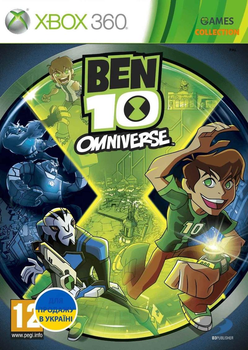 Ben 10: Omniverse (XBOX360)-thumb