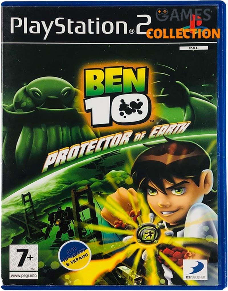 Ben 10: Protector of Earth (PS2) Б/У-thumb