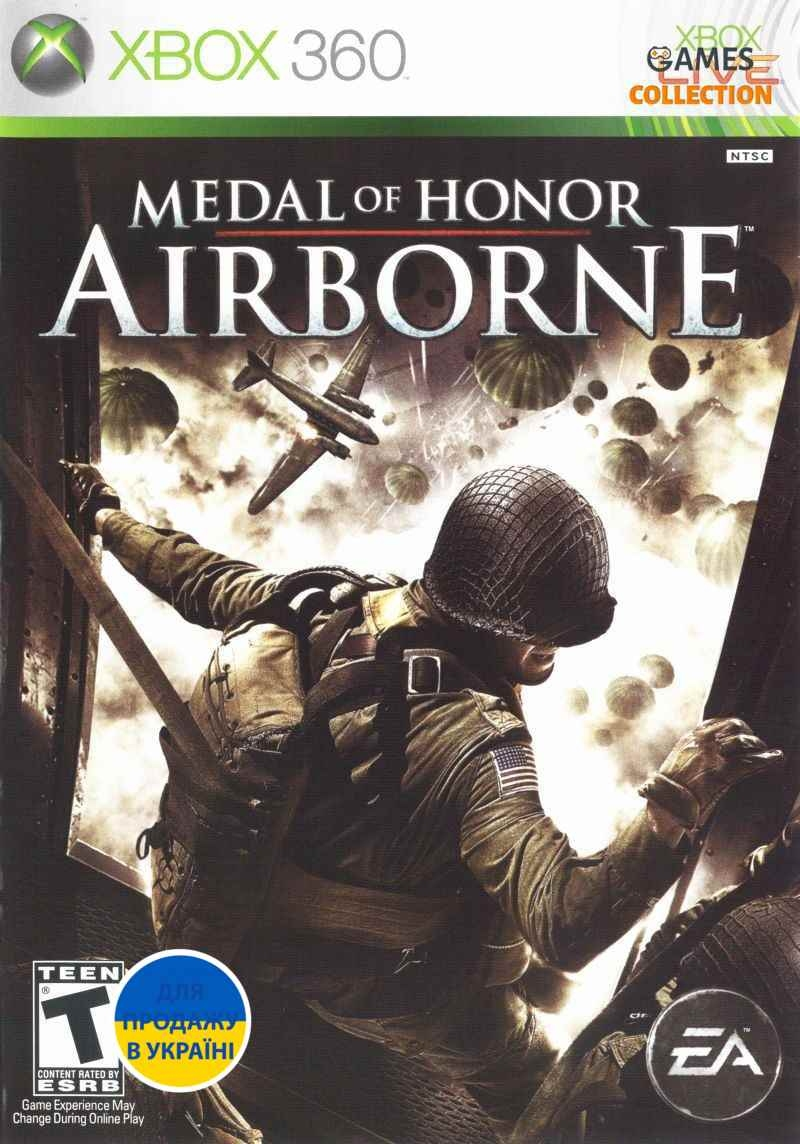 Medal of Honor: Airborne (XBOX360) Б/у-thumb