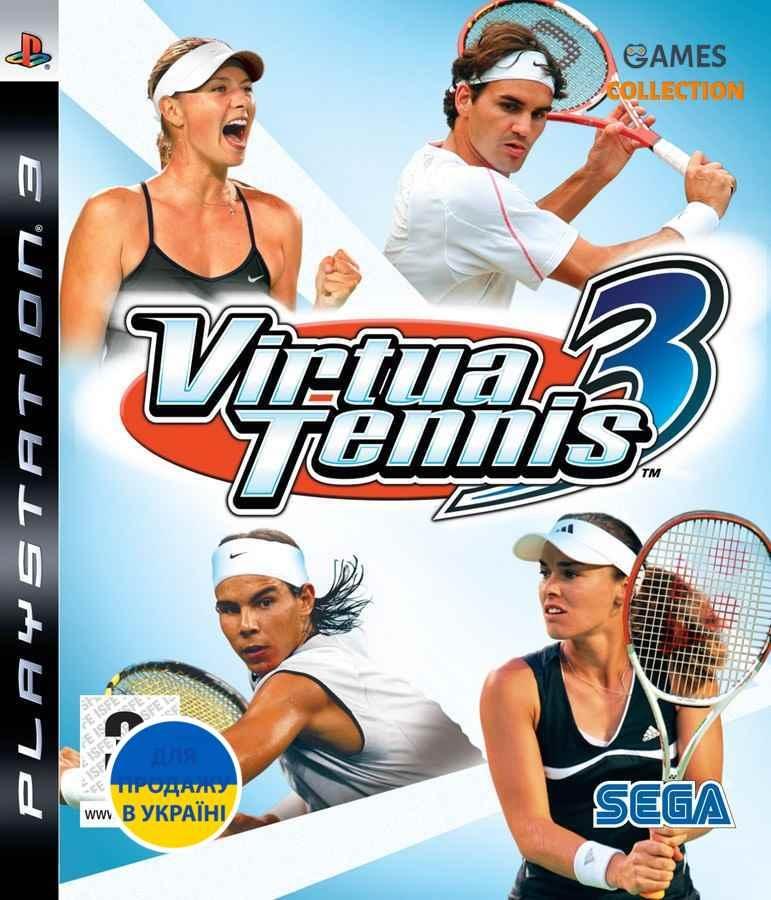 Virtua Tennis 3 (PS3)-thumb