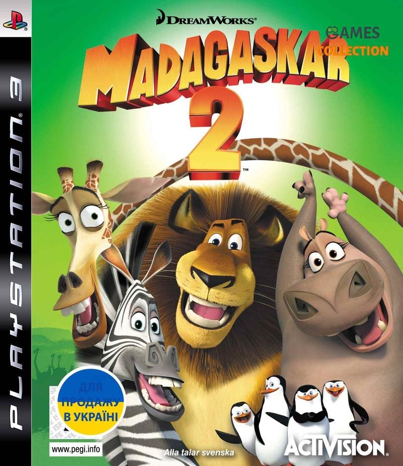 Мадагаскар 2: Побег в Африку (PS3) Б/У-thumb