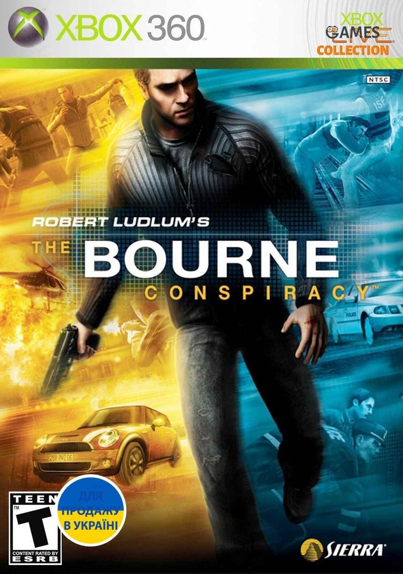The Bourne Conspiracy (Xbox 360) Б/У-thumb
