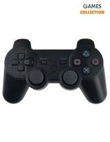 Черный беспроводной джойстик (PS3)-thumb