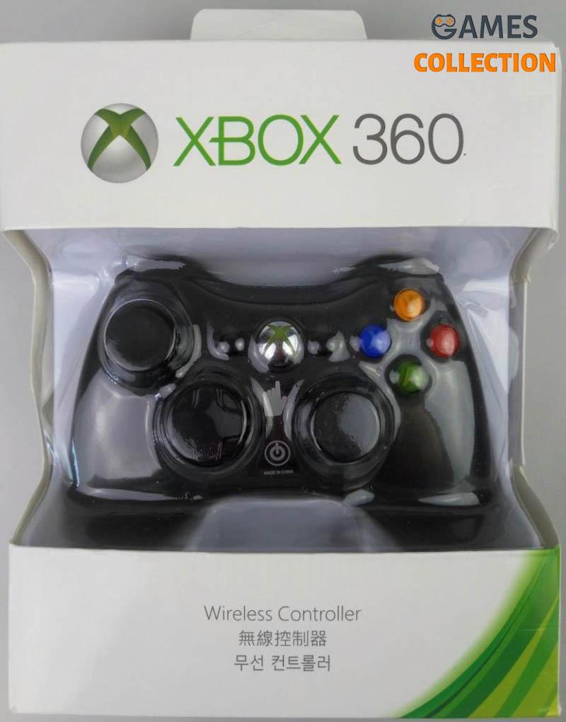 Беспроводной контроллер универсальный Black (Xbox 360)-thumb