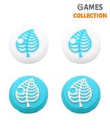 Защитный колпачок для Стиков Switch Lite Blue Голубой листик-thumb