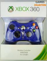 Универсальный беспроводной контроллер (Xbox 360) Blue-thumb