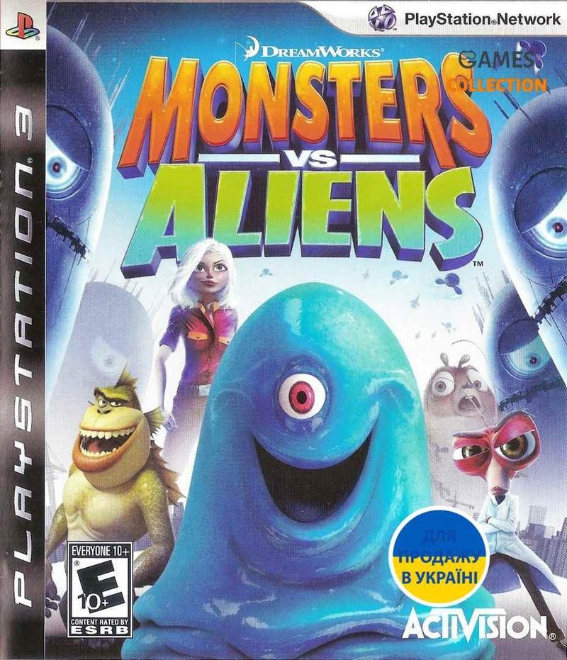 Monsters vs. Aliens (PS3)-thumb