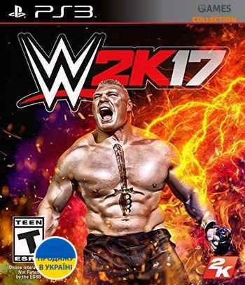 WWE 2K17 (PS3)-thumb