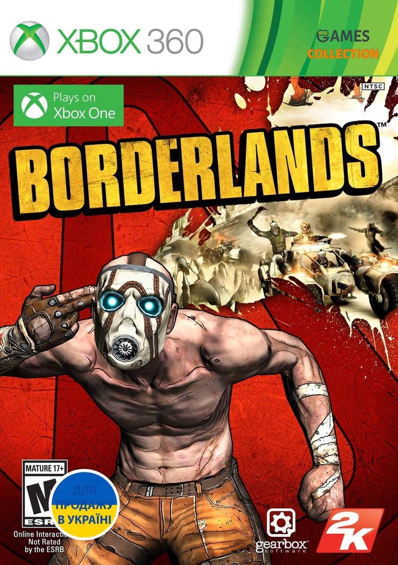 Borderlands (XBOX360) Б/у-thumb