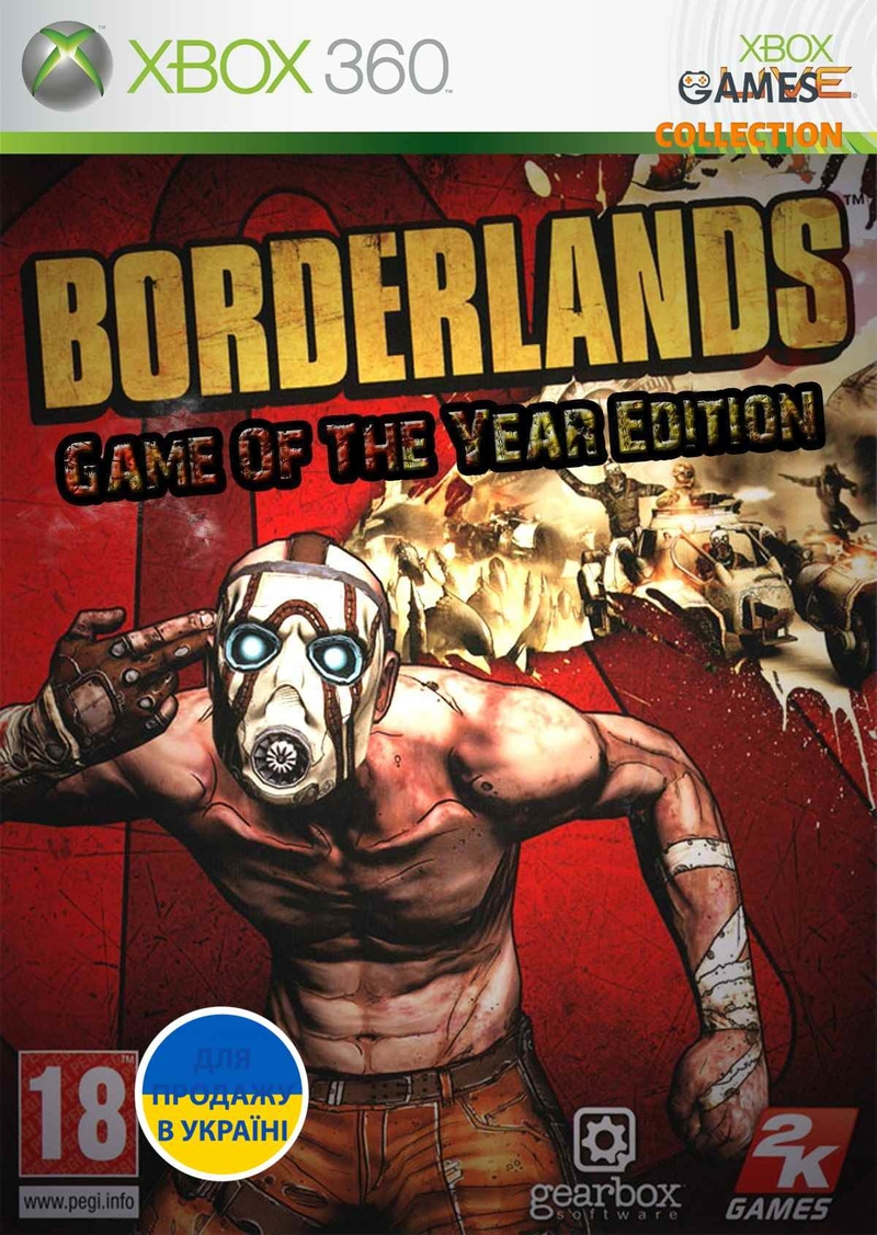 Borderlands: GOTY (XBox 360) Лицензия-thumb