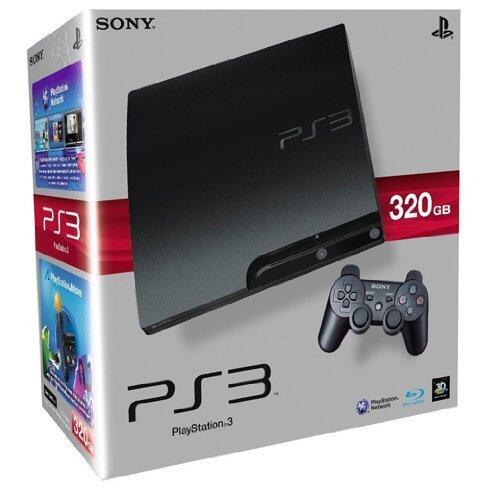 PS3 slim 320gb (Б/У)-thumb