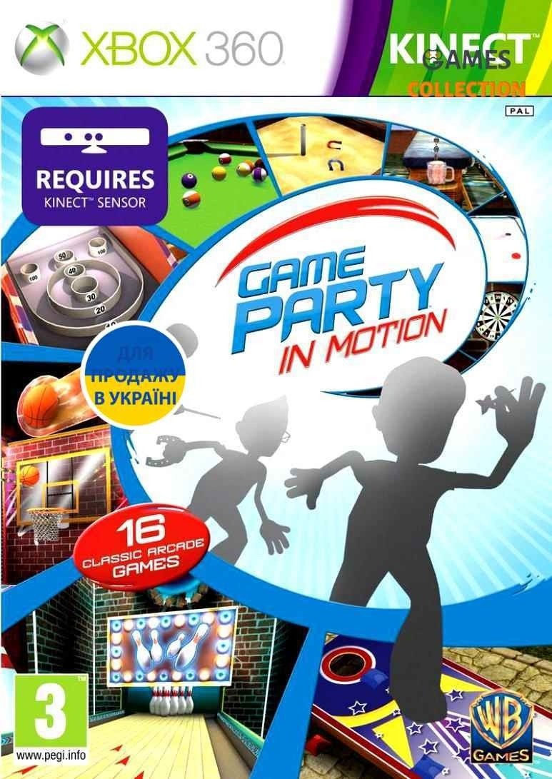 Game Party: In Motion (XBOX360) Kinect-thumb