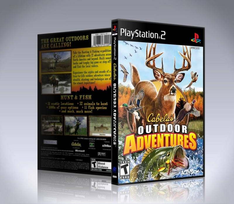 Cabelas Outdoor Adventures (ps2)-thumb