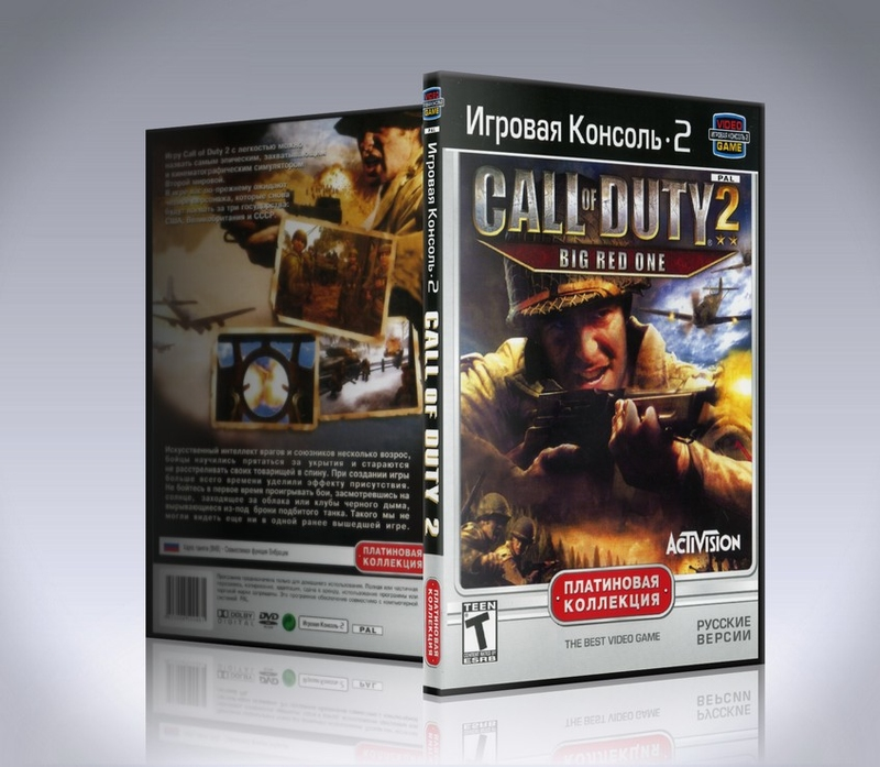 Call of Duty 2 Big Red One (ps2)-thumb