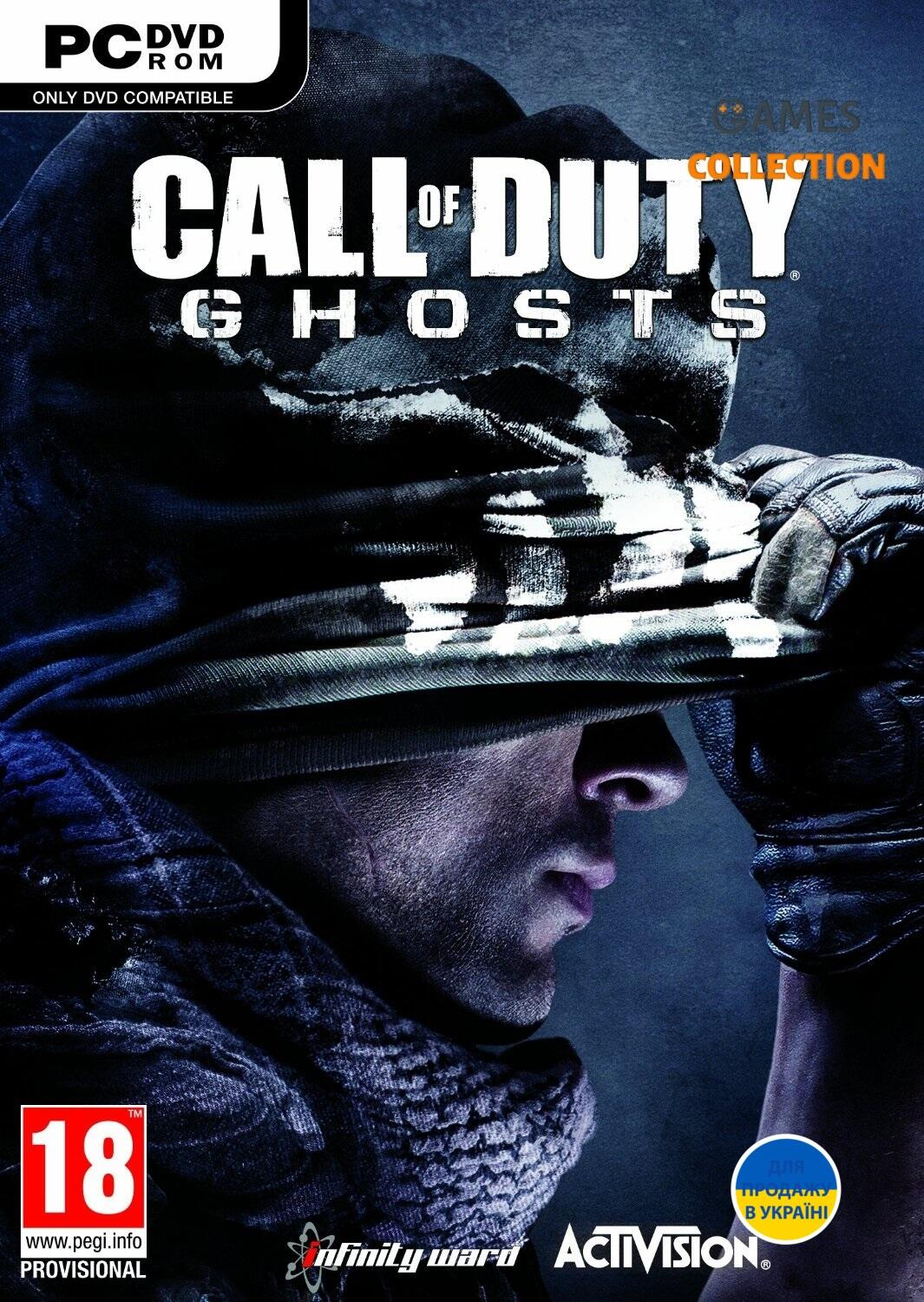 Call of Duty. Ghosts Расширенное издание PC-DVD (DVD-box)-thumb