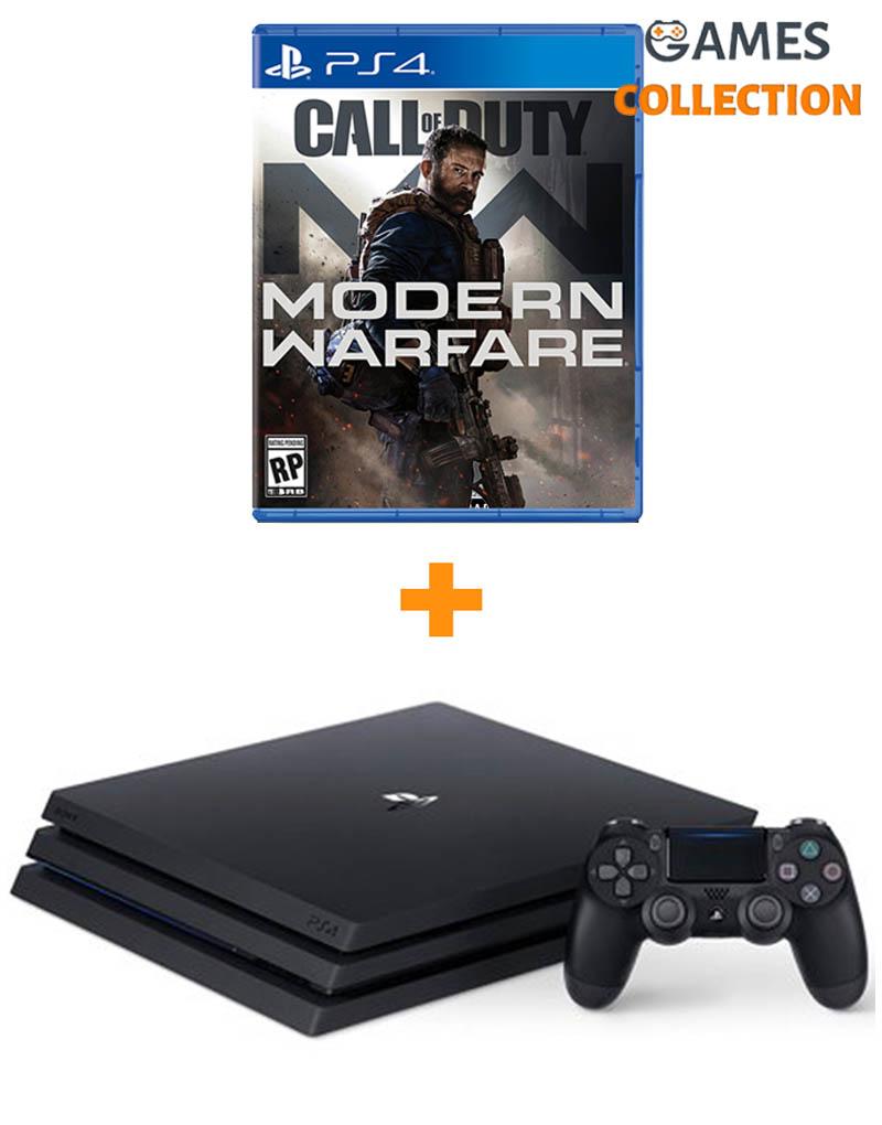 PS4 Pro 1TB + Call of Duty: Modern Warfare Rus (PS4)-thumb