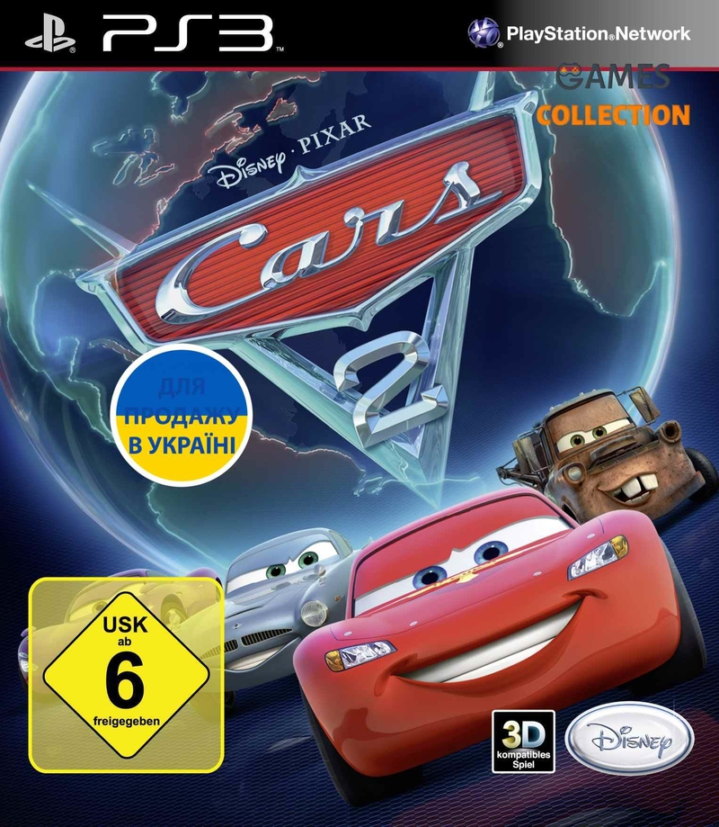 Cars 2: The Video Game (PS3)-thumb