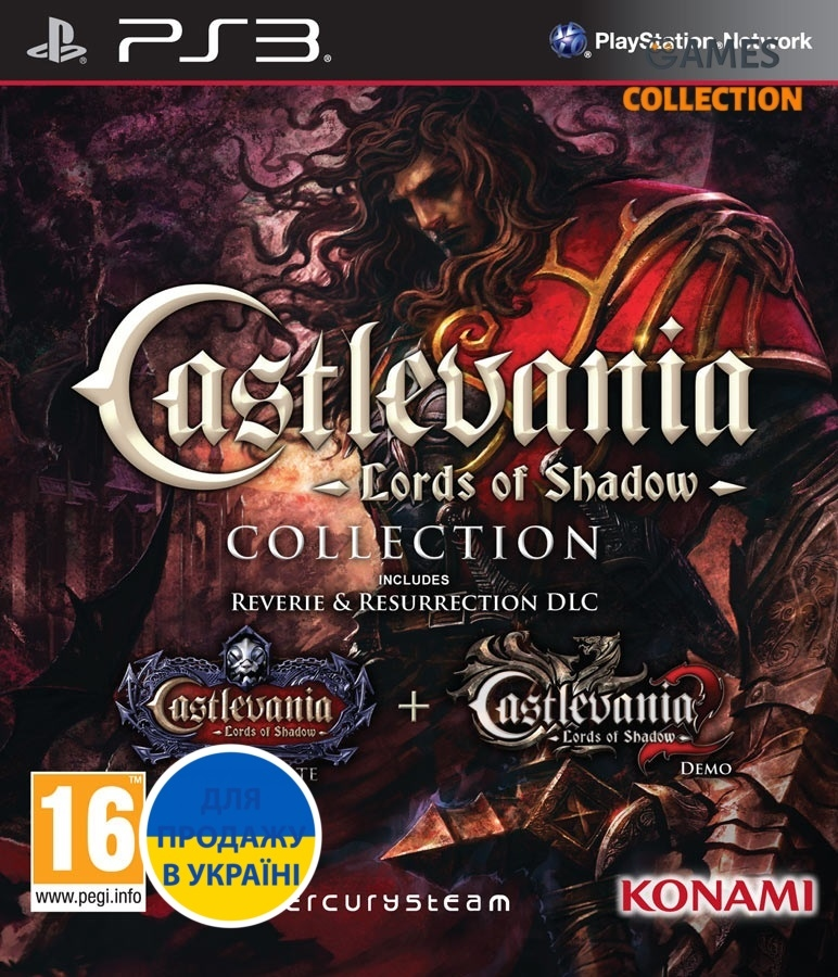 Castlevania: Lords of Shadow Collection (PS3)-thumb