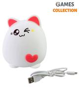 Силиконовый Ночник Super Cat Цвета (Светильник)-thumb