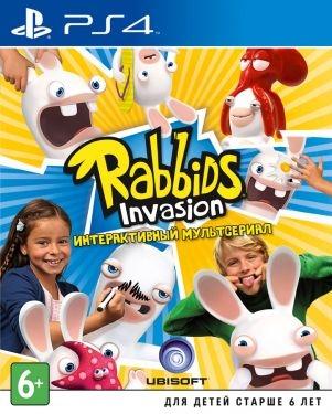 Rabbids Invasion [PS4, русская версия]-thumb