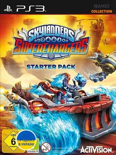 Skylanders SuperChargers (PS3)-thumb