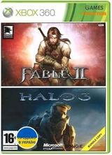 Fable 2/Halo 3 (XBOX 360) Б/У-thumb